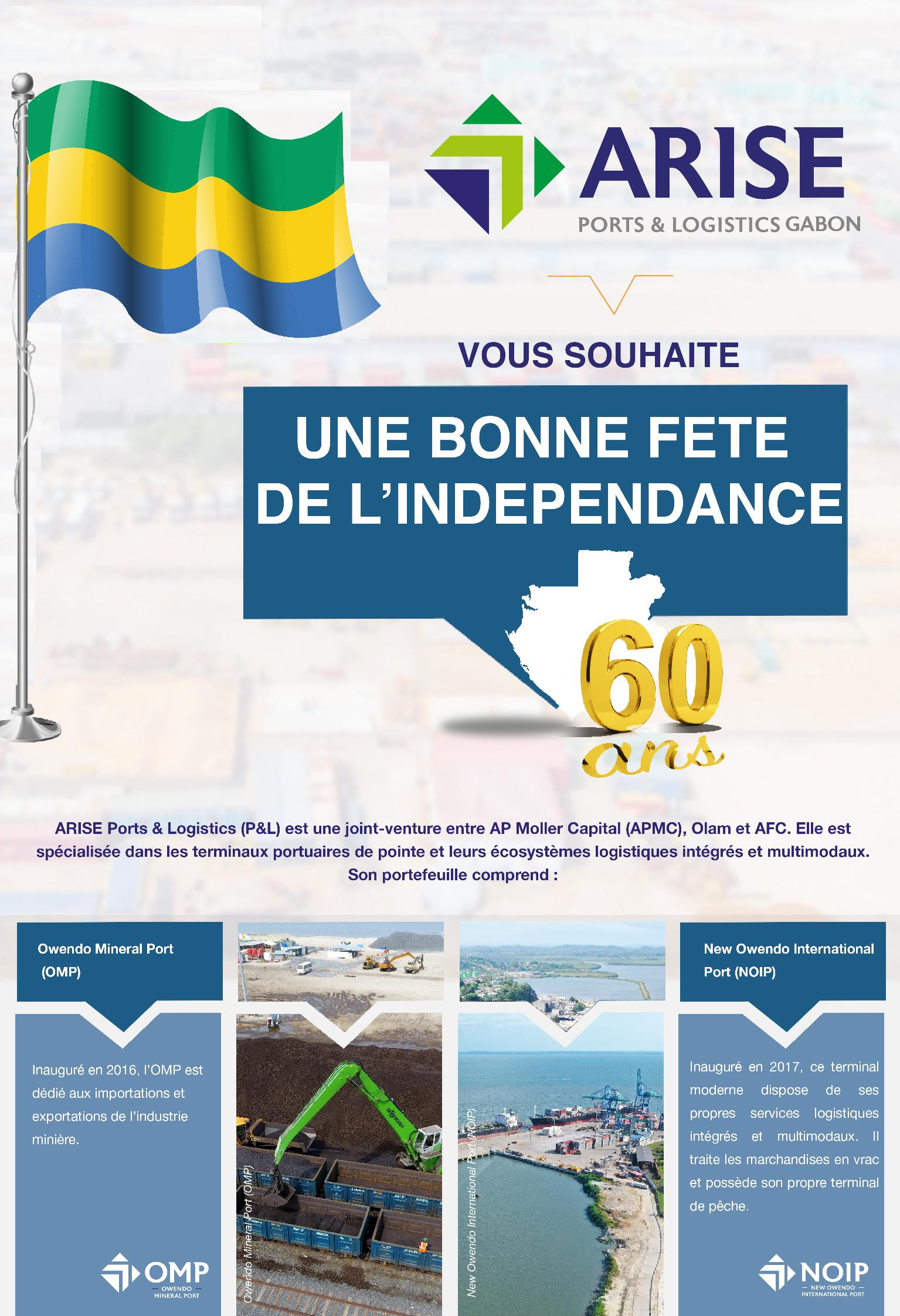 ARISE PORTS AND LOGISTICS GABON
